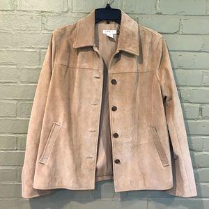 J.Crew Tan Leather Jacket